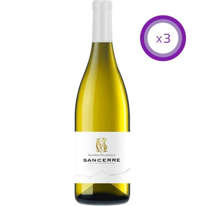 Domaine Millerioux - Sancerre - Vin Blanc - 2018 - 75cl