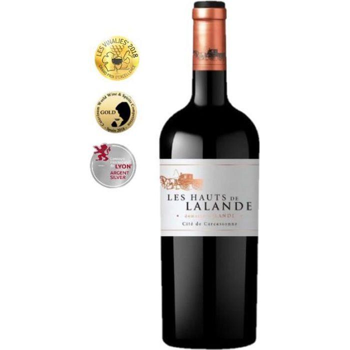 Vin Rouge IGP Cité de Carcassonne - Les Hauts de Lalande - Domaine Lalande