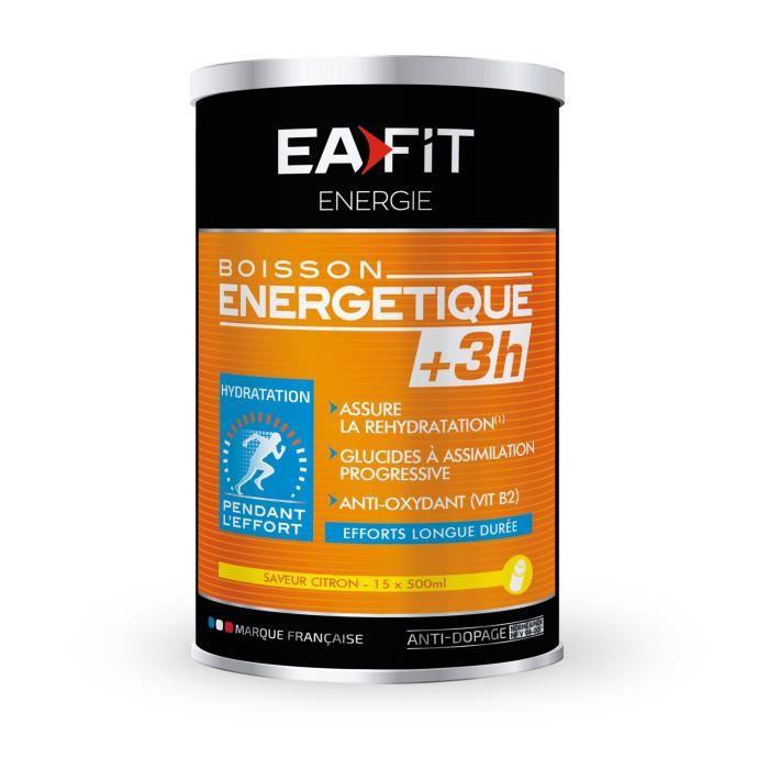 EAFIT Boisson énergétique +3H - Citr
