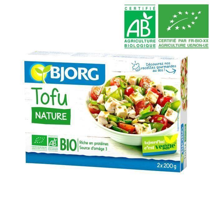 Tofu nature bio 2 x 200 g Bjorg