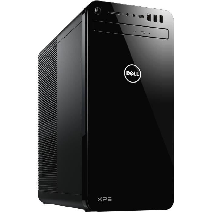 Unité Centrale - DELL XPS 8930 - Core i7-8700 - RAM 16 Go - Stockage 2To + 256Go SSD - NVIDIA GTX 1070 8 Go Windows 10