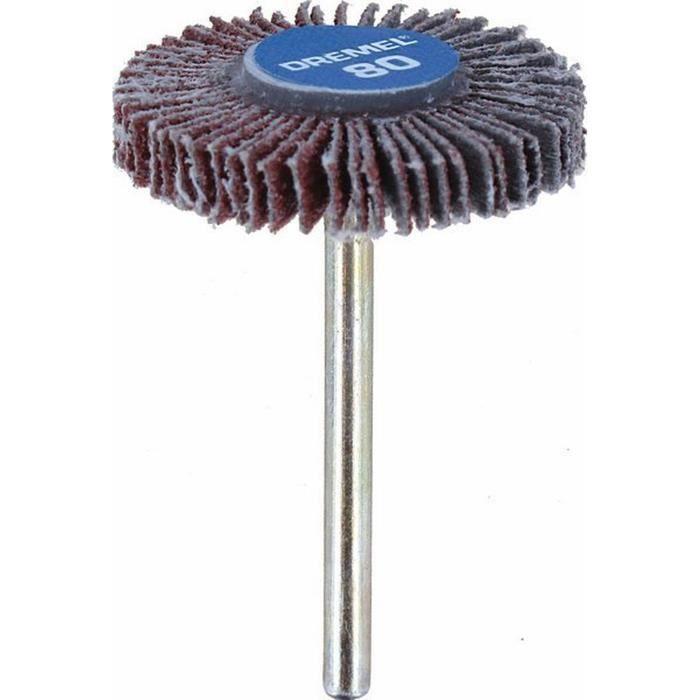 DREMEL Polissoir à lamelles 4,8mm grain 80 504