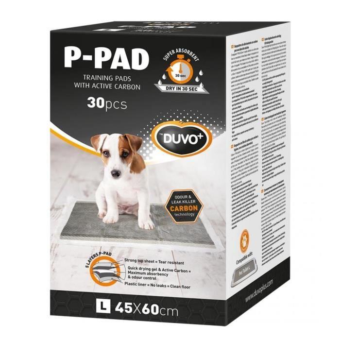 P-PAD Carbon Large Duvo+ L - 30pcs - 45 x 60 cm