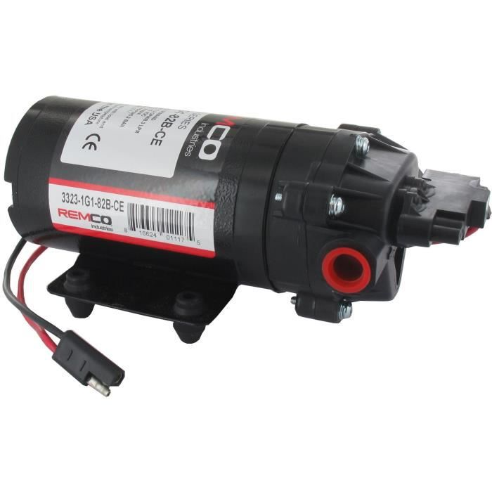 Pompe 12V universelle pour pulvérisateurs - Débit de la pompe 8,3 L/mm, Pression de sortie 5,2 bars/maxi ( anciennement BHB-6027 )
