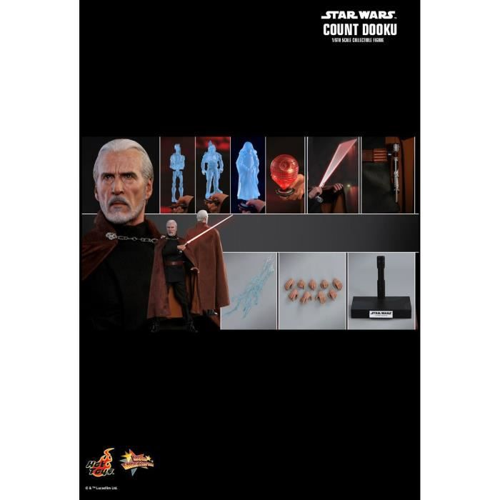 Hot Toys MMS496 - Star Wars 2 : Attack Of The Clones - Count Dooku
