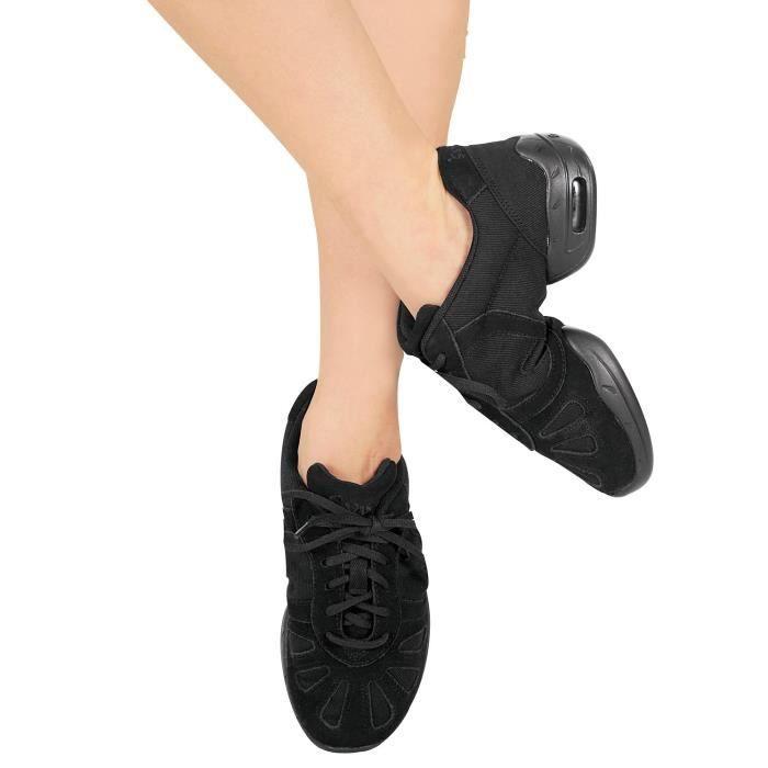 Chausson De Danse BSDUA Salut étape danse Sneaker Taille-41