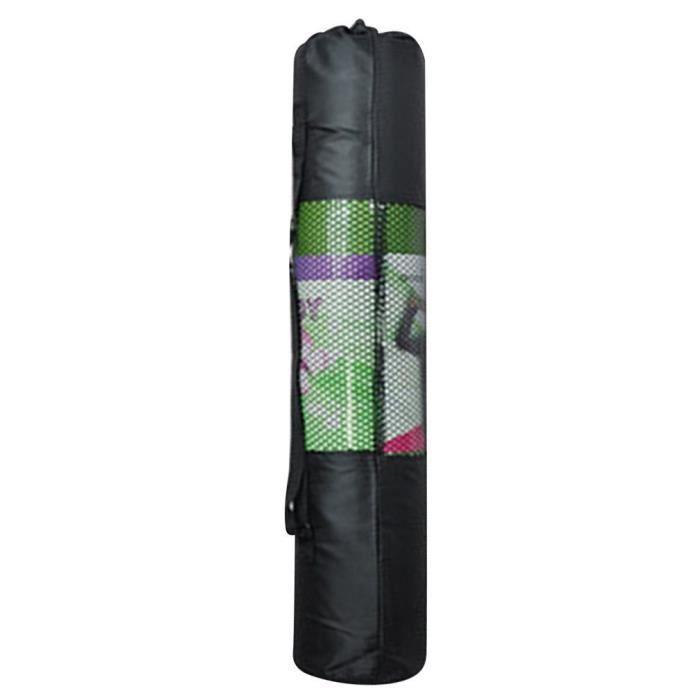 Sac de yoga portable Pilates Mat Mesh Case Sac transporteur d'entraînement 67cm