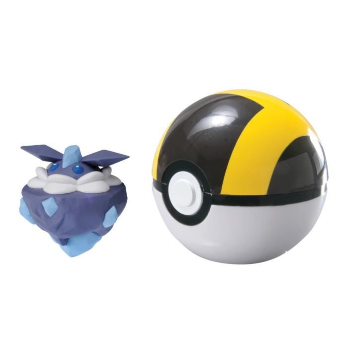 POKEMON Figurine Sandshrew avec Hyper Ball