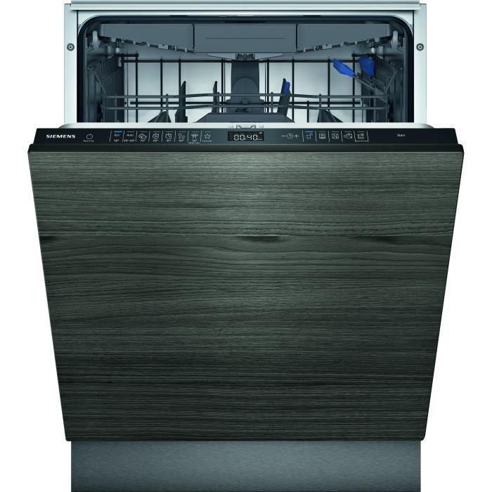 Lave-vaisselle tout intégrable SIEMENS SN85EX56CE iQ500 - 14 couverts - Induction - L60cm - 42 dB