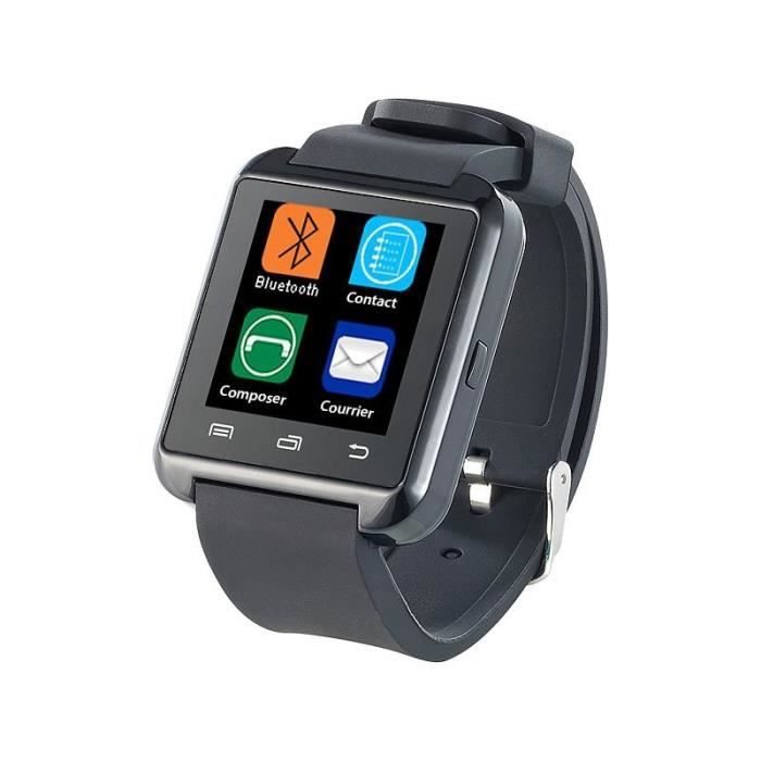 smartwatch bluetooth montre connect e compatible android. Black Bedroom Furniture Sets. Home Design Ideas