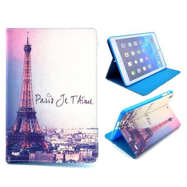 crazy kase etui ipad mini 1 2 3 motif tour eiffel prix pas cher cdiscount. Black Bedroom Furniture Sets. Home Design Ideas