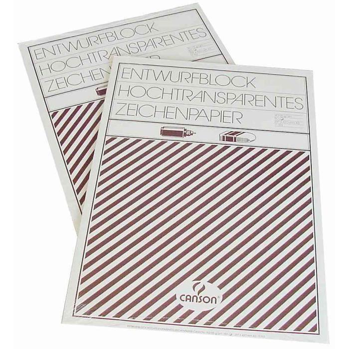 Winsor & Newton Bleedproof Bloc de Papier 50 feuilles A4 Papier Cuisine & Maison