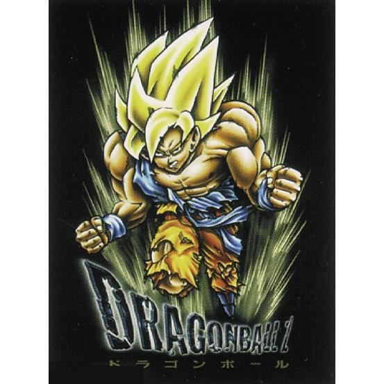 Poster dragonball z un joli emballage cadeau achat for Decoration murale dragon ball z