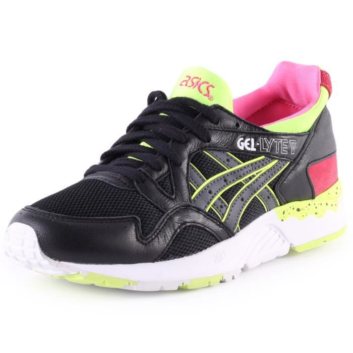 Asics Gel Femmes V 4 Tiger Uk Onitsuka Black Lyte Baskets Multicolour iuXPkZ