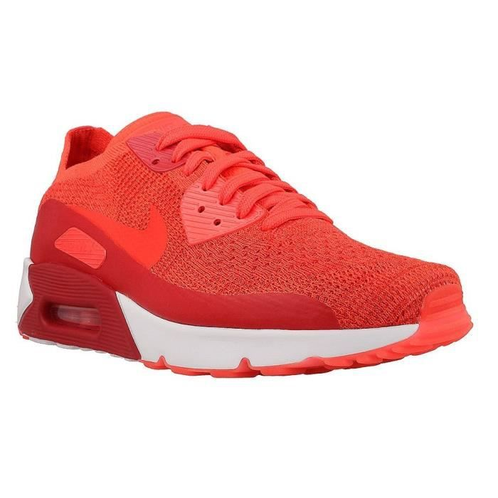Chaussures Nike Air Max 90 Ultra 20 Flyknit 875943 600