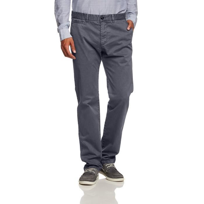 Pantalon chino 1IS79D Taille-42 Gris - Achat