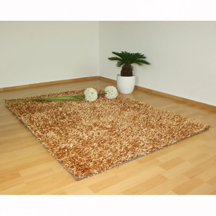tapis shaggy beige dimensions 80 x 150 cm achat vente tapis cdiscount. Black Bedroom Furniture Sets. Home Design Ideas
