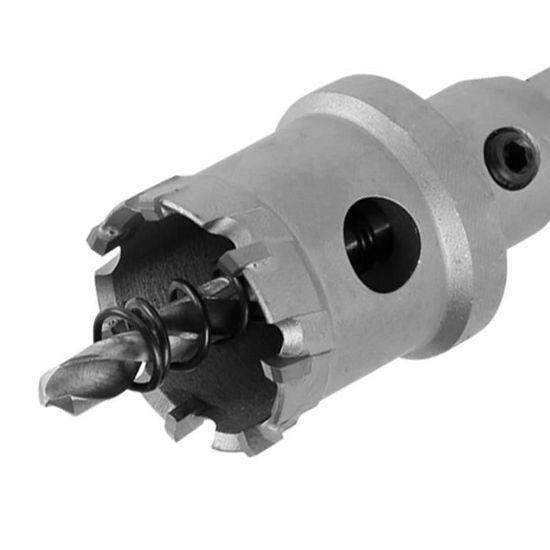 Bardland JSZ-6S Lot de 6 forets TCT pour scie cloche 14 /à 30 mm d/épaisseur en alliage de m/étal r/ésistant pour acier inoxydable plaque de fer bois
