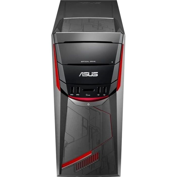 ASUS PC de Bureau Gamer G11CD-K-FR126T - 8Go de RAM - Windows 10 - Intel® Core? i5-7400 - GeForce GTX1050 - Disque Dur 2To
