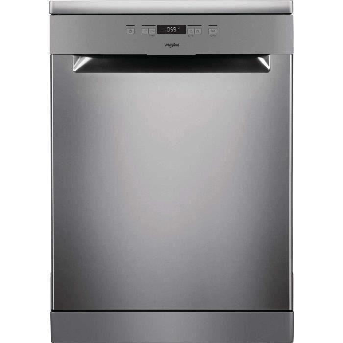 WHIRLPOOL OWFC3C26X - Lave-vaisselle posable-14 couverts-46 dB-A++-Larg 60 cm-Moteur induction