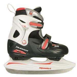 PATIN À GLACE NIJDAM Patins de hockey sur glace  - Enfant - Noir