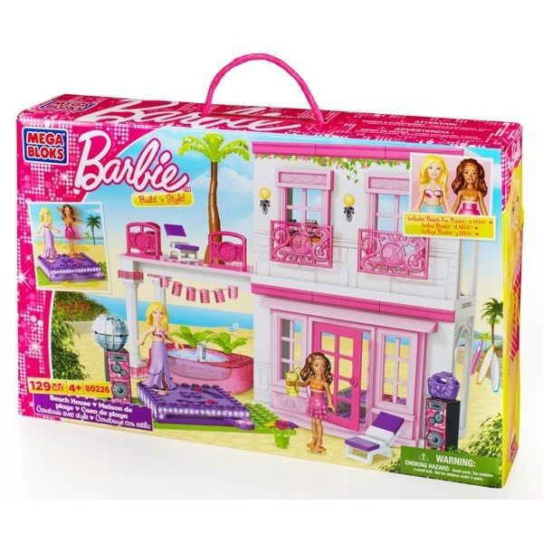 mega bloks barbie la maison de la plage achat vente assemblage construction cdiscount. Black Bedroom Furniture Sets. Home Design Ideas