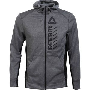REEBOK Sweat POLY FLEEC - Homme - Gris