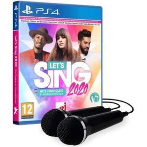 JEU PS4 Let's Sing 2020 Hits francais et internationaux (2