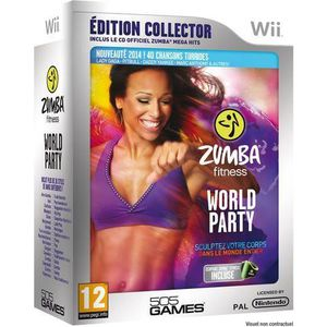 JEUX WII ZUMBA FITNESS WORLD PARTY EDITION COLLECTOR