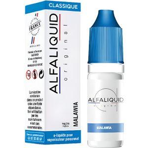 LIQUIDE Eliquide Alfaliquid Saveur Tabac Malawia 10ml 11mg