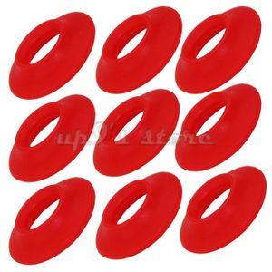 O-Ring 8x2mm rouge silicone joint intérieur 8 mm extérieur 12 mm d/'épaisseur 2 mm