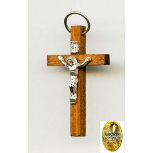 SAUTOIR ET COLLIER Croix avec Christ pour pendentif hauteur 3.50 cm