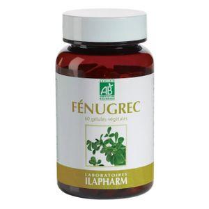 CHOLESTÉROL - TENSION FENUGREC BIO - Glycémie  - Flacon de 60 gélules