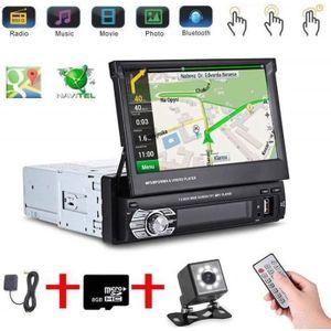 Boomboost 2 Din Car Radio 7HD Autoradio MP5 Lecteur Bluetooth AUX MP3 FM Auto Lecteur /Écran Tactile 2din Support Lien Miroir pour Android Phone avec cam/éra de recul
