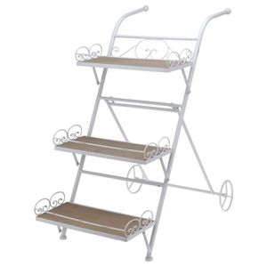 etagere escalier metal achat vente etagere escalier metal pas cher cdiscount. Black Bedroom Furniture Sets. Home Design Ideas