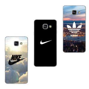 COQUE - BUMPER Coque Pour Samsung Galaxy A3 2016 A310 3PC Nike et