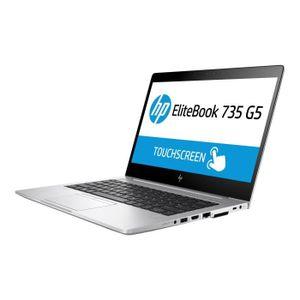 "Vente PC Portable HP EliteBook 735 G5 Ryzen 5 2500U - 2 GHz Win 10 Pro 64 bits 8 Go RAM 256 Go SSD NVMe 13.3"" IPS 1920 x 1080 (Full HD) AMD Radeon… pas cher"