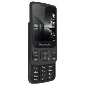 Téléphone portable Konrow Slider - Téléphone Coulissant - Ecran 2.4''