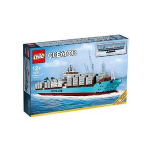 ASSEMBLAGE CONSTRUCTION LEGO 10241 Maersk Triple E-Conteneurs