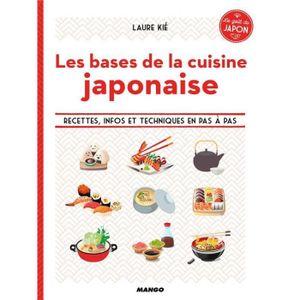 Livre Les Bases De La Cuisine Japonaise