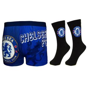 BOXER - SHORTY Chelsea FC officiel - Ensemble boxer et chaussette