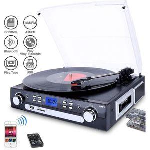 FEUTRINE DJ Platine Vinyle Bluetooth USB mp3 et Fonction Encod