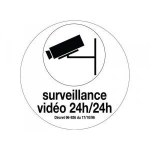 BORDURE disque diamètre 80 mm rigide vidéoprotection 24h/2