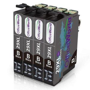 PACK CARTOUCHES Compatible cartouches d'encre Epson 29 xl noir pou