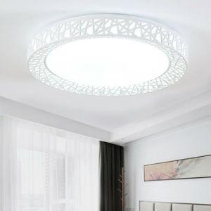 PLAFONNIER Plafonnier à LED 24W 27cm Lampe de plafond Moderne
