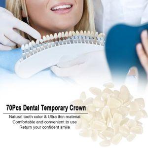 KIT PRODUITS DENTAIRES 70Pcs Dentaire Temporaire Couronne Ultra-mince Pat