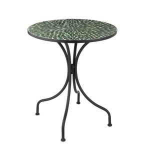 Table ronde mosaique