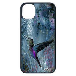 COQUE - BUMPER Coque colibri pour Apple iPhone 11 pro silicone an