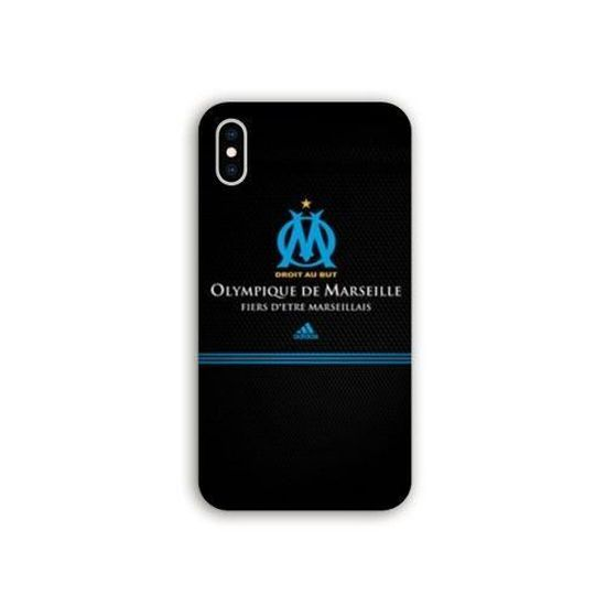 Coque Wiko Y80 Olympique Marseille OM Fier etre Marseillais taille unique