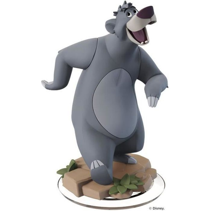 figurine baloo le livre de la jungle disney infinity 3 0 achat vente figurine de jeu fig. Black Bedroom Furniture Sets. Home Design Ideas
